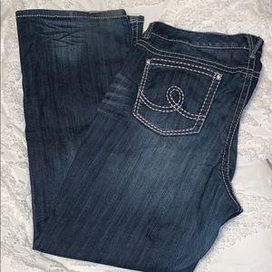 Seven7 Plus Size 22 Stitched Jeans